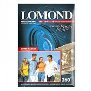 Бумага A6 LOMOND, глянцевая, 260 г/м, 10x15 см, 20 листов, Super Glossy (1103102)