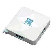 HUB 4-port 5bites HB24-202WH White USB 2.0