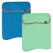 Чехол для ноутбука G-Cube 13.3 GNR-113BG, синий/зеленый