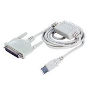 Адаптер USB Am - DB25M RS232, 1.8 метра, Gembird UAS112