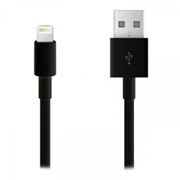 Кабель USB 2.0 Am=>Apple 8 pin Lightning, 1 м, черный, Cablexpert (CC-USB-AP2MB)