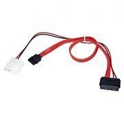 Кабель интерфейсный mini SATA DATA + питание Molex, 50/30 см, Gembird (CC-SATA-C3)