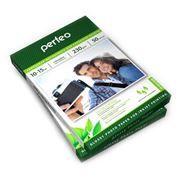 Бумага A6 PERFEO глянцевая 230 г/м, 10x15 см, 50 листов (PF-GLR4-230/50) (G02)