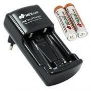 Зарядное устройство NEXCELL SC-210 + 2 аккумулятора AAA 900mА/h