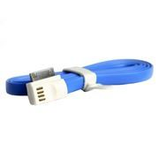 Кабель USB 2.0 Am=>Apple 30 pin, магнит, 1.2 м, голубой, SmartBuy (iK-412m blue)