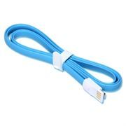 Кабель USB 2.0 Am=>Apple 8 pin Lightning, магнит, 1.2 м, голубой, SmartBuy (iK-512m blue)