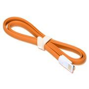Кабель USB 2.0 Am=>Apple 8 pin Lightning, магнит, 1.2 м, оранжевый, SmartBuy (iK-512m orange)