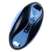 Беспроводная кнопка для селфи Perfeo S5 Zoom Remote Shuter, IOS/Android, черная/синяя (PBSS5BB)