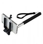 Монопод для селфи Perfeo M4 Selfie Stick, без кнопки, телескоп., 20 - 102 см, черный (PSSM4BK)