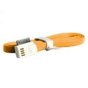 Кабель USB 2.0 Am=>Apple 30 pin, магнит, 1.2 м, оранжевый, SmartBuy (iK-412m orange)