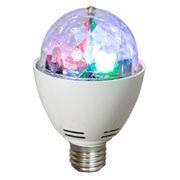 Светодиодная диско-лампа Perfeo PL-05S, вращающаяся, цоколь E27
