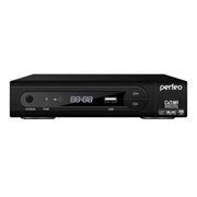 Цифровой телевизионный ресивер DVB-T2 PERFEO PF-168-1-OUT с HD-медиаплеером, внешний блок питания