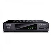 Цифровой телевизионный ресивер DVB-T2 PERFEO PF-168-3-OUT с HD-медиаплеером, внешний блок питания
