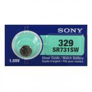Батарейка Sony SR 731 SWN-PB 329 1.55V, 1 шт, блистер