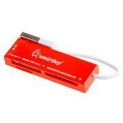 Карт-ридер внешний USB SmartBuy SBR-717-R Red