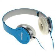 Наушники SmartBuy ONE, складные, плоский кабель, синие (SBE-9420)