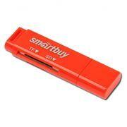 Карт-ридер внешний USB SmartBuy SBR-715-R Red