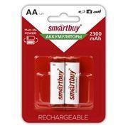 Аккумулятор AA SmartBuy HR6-2BL 2300мА/ч Ni-Mh, 2шт, блистер (SBBR-2A02BL2300)