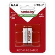 Аккумулятор AAA SmartBuy HR03-2BL 950мА/ч Ni-Mh, 2шт, блистер (SBBR-3A02BL950)