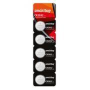 Батарейка CR2032 SmartBuy, 5 шт, блистер (SBBL-2032-5B)
