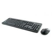 Комплект Gembird KBS-7002 Black, беспроводные клавиатура и мышь