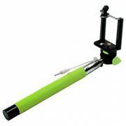Монопод для селфи RITMIX RMH-110 Selfie, проводное управление, телескопический, зеленый
