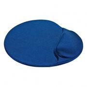 Коврик для мыши Defender Easy Work, с валиком, лайкра, синий, 260 x 225 x 5 мм (50916)