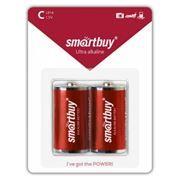 Батарейка C SmartBuy LR14/2B, щелочная, 2шт, блистер (SBBA-C02B)