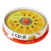 Диск CD-R SMARTBUY 700MB Fresh-Orange 52x, Cake Box, 10шт