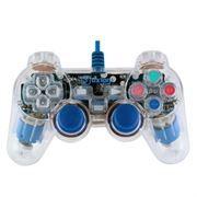 Геймпад OXION OGP02BL, подсветка, синий, ПК/PS3