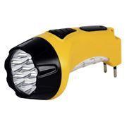 Фонарь SmartBuy, аккумуляторный, зарядка 220В, желтый, 7+8 LED (SBF-88-Y)