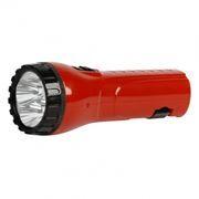 Фонарь SmartBuy, аккумуляторный, зарядка 220В, красный, 4 LED (SBF-93-R)