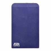 Внешний контейнер для 2.5 HDD S-ATA AgeStar SUB2O1, алюминиевый, синий, USB 2.0