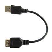 Кабель удлинитель USB 2.0 Am=>Af - 0.15 м, Dialog (HC-A5901)