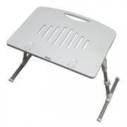 Раскладной портативный столик для ноутбука Dialog MD-15 White