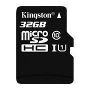 Карта памяти Micro SDHC 32Gb Kingston Class 10 UHS-I 45MB/s без адаптеров (SDC10G2/32GBSP)