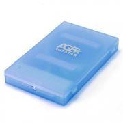 Внешний контейнер для 2.5 HDD S-ATA AgeStar SUBCP1, пластик, синий, USB 2.0