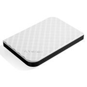2.5 1TB Verbatim Store'n'go White New USB3.0 (53206)