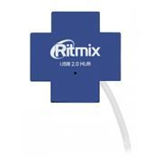 HUB 4-port Ritmix CR-2404 Blue USB2.0
