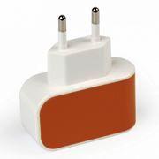 Зарядное устройство SmartBuy COLOR CHARGE, 1A USB, оранжевое (SBP-8050)