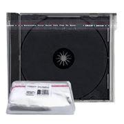 Конверт прозрачный для CD-BOX Jewel 10мм, 100шт