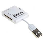 Карт-ридер внешний USB SmartBuy SBR-713-W White