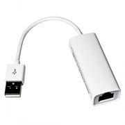 Адаптер USB Am - RJ45 10/100 Мбит/с, 0.1 м, белый, KS-is (KS-270)