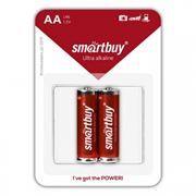 Батарейка AA SmartBuy LR6/2B Alkaline, 2шт, блистер (SBBA-2A02B)