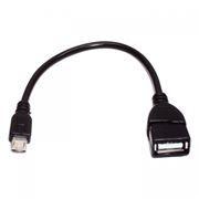 Адаптер OTG USB 2.0 Af - micro B, 0.2 м, SmartBuy (K-OTG3)