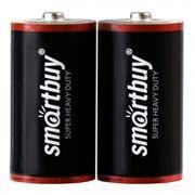 Батарейка D SmartBuy R20/2S, солевая, 2шт, в термопленке (SBBZ-D02S)