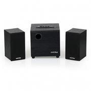 Колонки 2.1 SmartBuy SPARTA с MP3 плеером и FM-радио, MDF, черные (SBA-200)