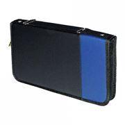 Портмоне 48 CD Boombag BB-4818С, черно-синее, кожзам