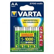 Аккумулятор AA VARTA 2700мА/ч Ni-Mh, 4шт, блистер (5706301404)