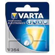 Батарейка VARTA V 364 SR 621 SW 1.55V, 1 шт, блистер